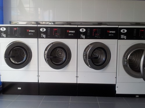 Temperature seche linge laverie
